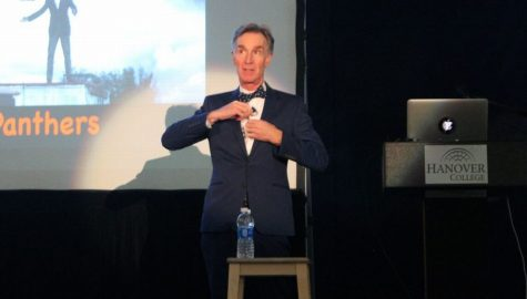 "Bill Nye ""The Science Guy"" Visits Hanover College for Eco Presentation"