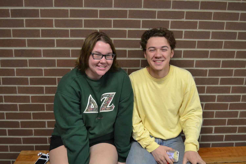 MCHS Seniors Abby Love and Davion Casper