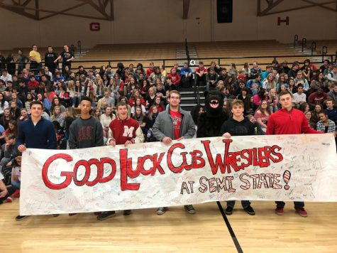 Record Tying Six MCHS Wrestlers Head to Semi-state