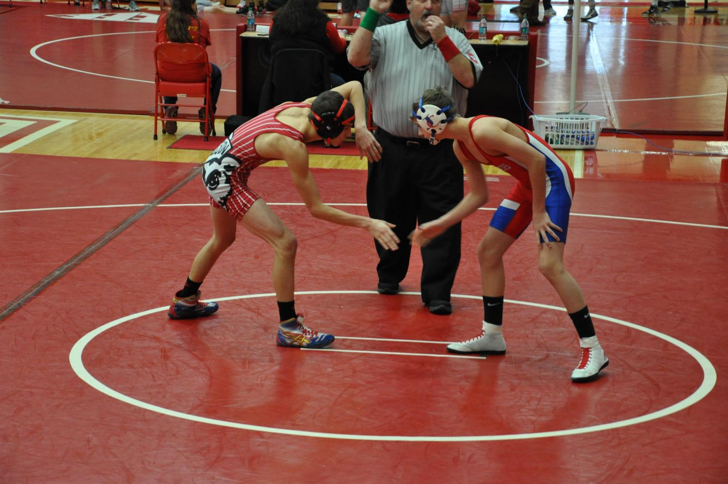 Cubs Wrestlers Bow Out Gracefully After Semi-state Defeats