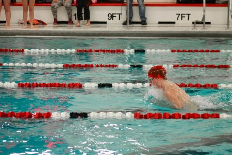 MCHS Boys Swim Team Finishes 7th in Sectional Competition