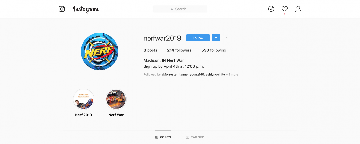 Sign up for Youth Nerf War Designed to Raise Money for Drive In