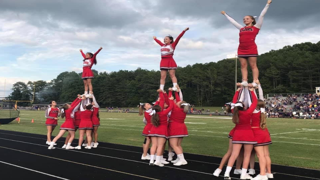 The+2019-2020+MCHS+cheerleaders+in+formation
