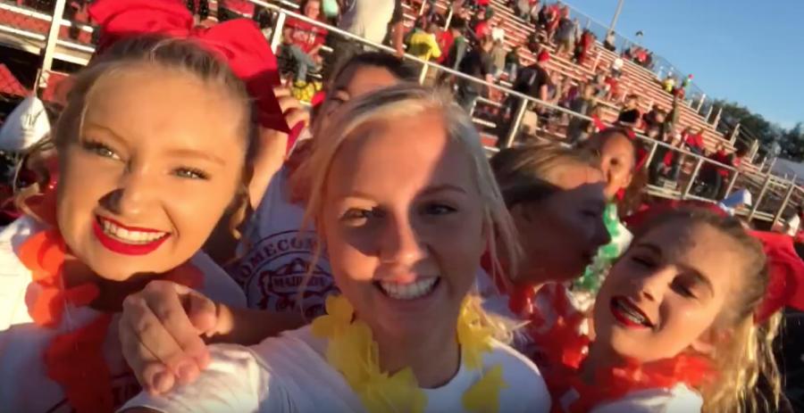 Cub Reporters Vlog Homecoming in the Eyes of Cheerleaders