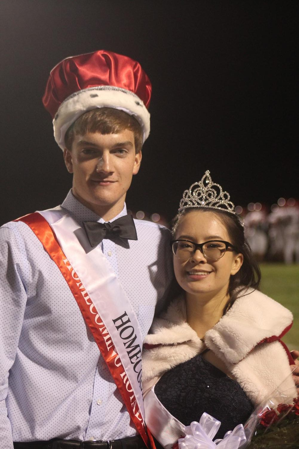 MCHS+Fall+2019+Homecoming+King+Matt+Ward+and+Queen+Lyca+Bishop