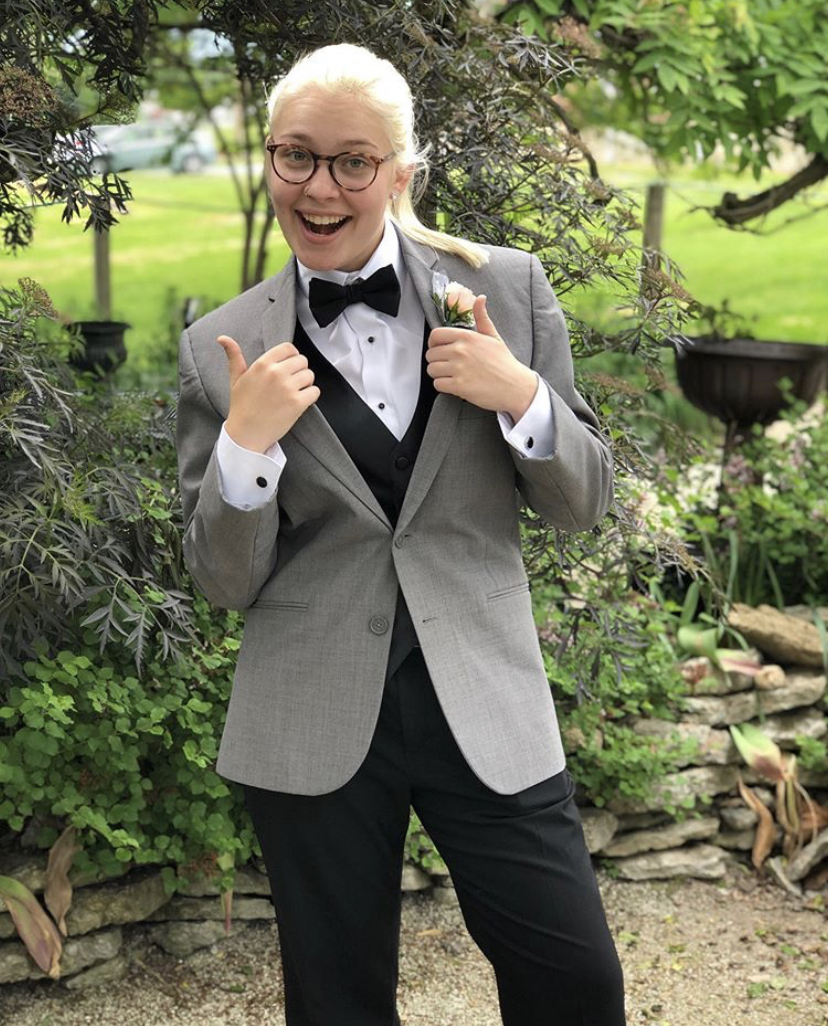 MCHS Senior Nikki Gatke before Junior prom. Courtesy of Instagram