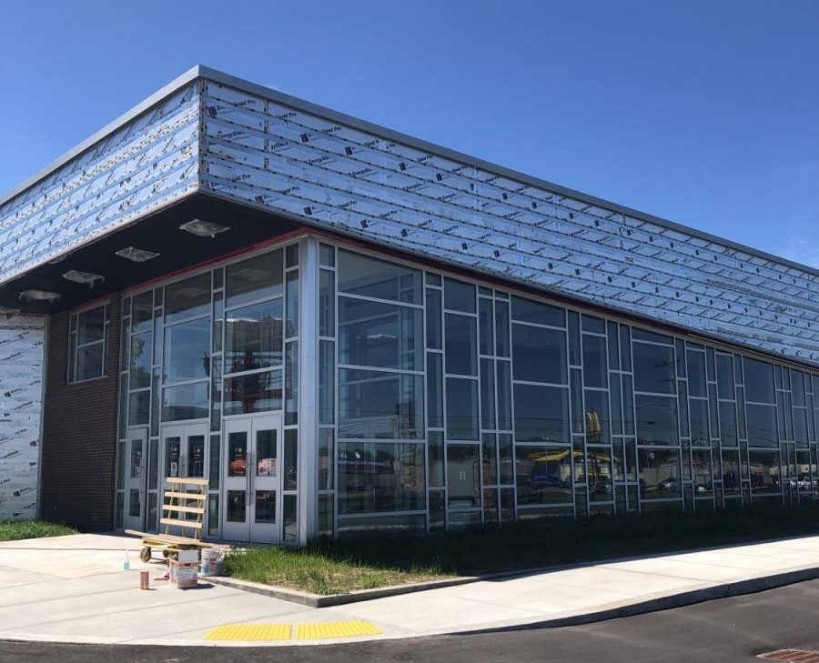 Opal E. Sherman Auditorium Nearing 100 Percent Completion