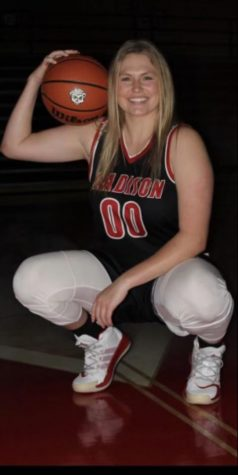 Madison Consolidated High School basketball standout Jade Nutley