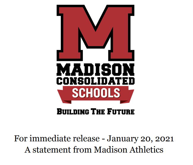 Statement+from+Madison+Athletics+Regarding+the+Continued+Focus+on+the+Health+and+Safety+of+Students+as+Our+County+Enters+Another+Week+under+Red+Status