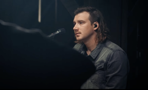 "Morgan Wallen in his ""Wasted on You"" video. https://www.youtube.com/watch?v=uKmg4UbnDLo"