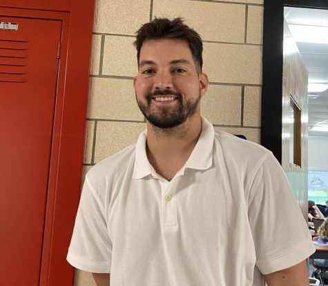 New Madison Consolidated Head Basketball Coach Adam Stotts